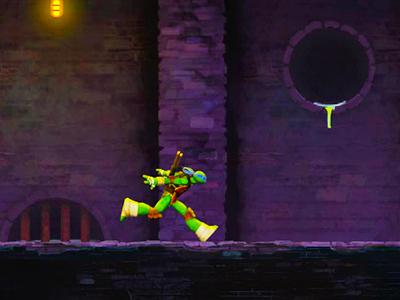 Ninja Kaplumbağalar Kanalizasyon Koşusu