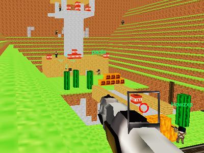 Online Minecraft Savaşı 7