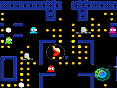 Online Pacman