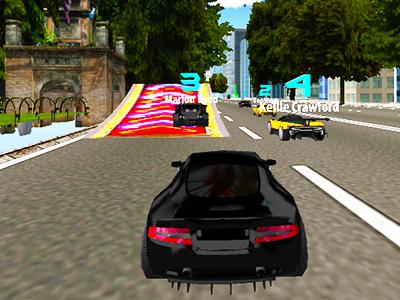 Otomatik Araba Yarışı