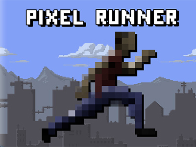 Pixel Koşucu