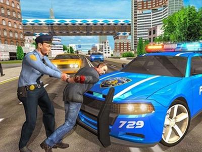 Polis Arabasından Kaçma