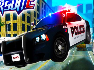 Polis Hirsizi Yakalama Oyunu Araba Kovalamaca Oyna 3d
