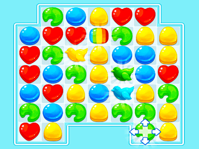 Renkli Şekerler 4