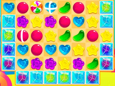 Renkli Şekerler 5