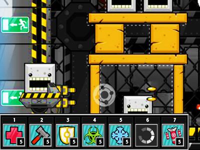 Robot Savunma Oyunu Kule Yap Savun