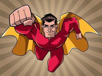 Süper Kahraman Boyama
