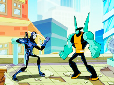 Süper Kahramanlar Dövüş