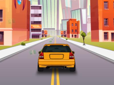 Trafikte Araba Kullanma