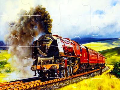 Tren Yapbozları