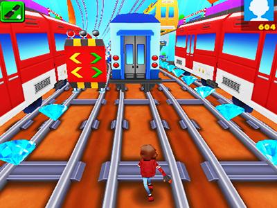 Tren Yolunda Koşu