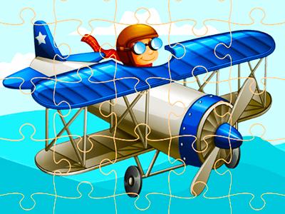 Uçak Yapbozu 2
