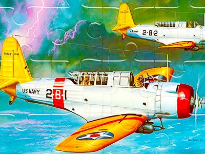 Uçak Yapbozu 4