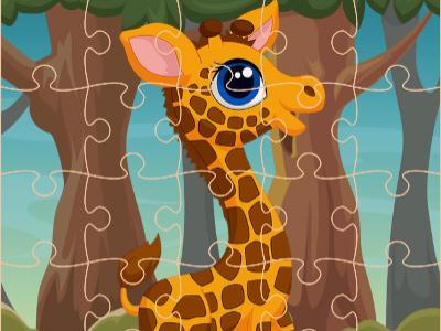 Zürafa Yapboz